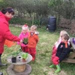 03.05.19 New beginnings in the school allotment